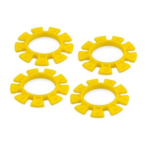 J Concepts . JCO TIRE GLUING RUBBER BANDS YELLOW