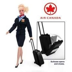 Daron Worldwide Trading . DRN AIR CANADA ATTENDANT DOLL