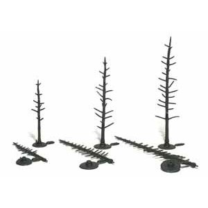 "Woodland Scenics . WOO PINE TREE ARMATURES 2-1/2""-4"""
