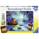 Ravensburger (fx shmidt) . RVB Moonlit Mission 300Pc Puzzle