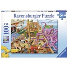 Ravensburger (fx shmidt) . RVB Pirate Boat Adventure 100Pc Puzzle
