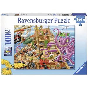Ravensburger (fx shmidt) . RVB PIRATE BOAT ADVENTURE 100PC