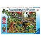 Ravensburger (fx shmidt) . RVB Wild Jungle 100Pc Puzzle