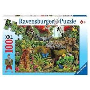 Ravensburger (fx shmidt) . RVB WILD JUNGLE 100PC