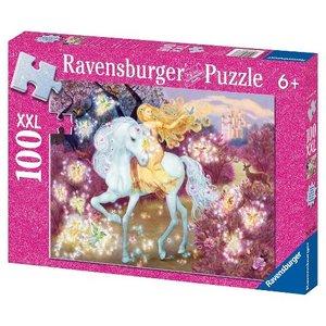 Ravensburger (fx shmidt) . RVB RIDING IN THE WOODS 100PC