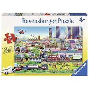 Ravensburger (fx shmidt) . RVB BUSY NEIGHBOURHOOD 60PC