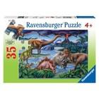 Ravensburger (fx shmidt) . RVB Dinosaur Playground 35Pc Puzzle