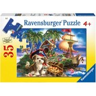 Ravensburger (fx shmidt) . RVB Puppy Pirate 35Pc Puzzle