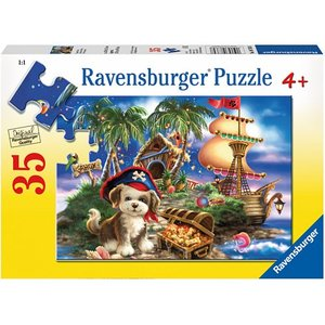 Ravensburger (fx shmidt) . RVB PUPPY PIRATE 35PC