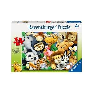 Ravensburger (fx shmidt) . RVB SOFTIES 35PC
