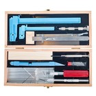 Excel Hobby Blade Corp. . EXL Deluxe Dollhouse Tool Set