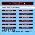 Archer Fine Transfers . AFT 1/35 VOLKSSTURM ARMBANDS