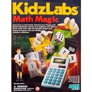 4M Project Kits . FMK Math Magic Puzzle & Game Set
