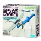 4M Project Kits . FMK Solar Plane Mobile Green Science Kit