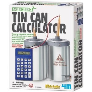 4M Project Kits . FMK Tin Can Calculator Science Kit