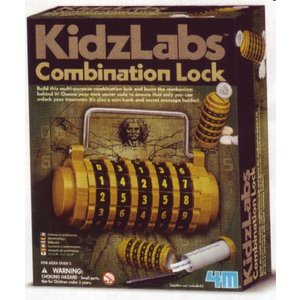 4M Project Kits . FMK Combination Lock Science Kit