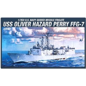 Academy Models . ACY 1/350 USS Oliver Hazard Perry