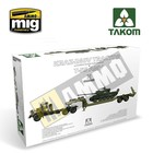 TAKOM . TAO 1/35 KRAZ 260V TRACTOR + T55 AMV TANK