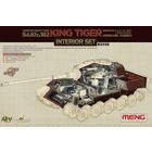 Meng . MEG 1/35 KING TIGER INTERIOR SET