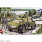 Bronco Models . BRC SD.KFZ.221 LEICHTER PANZER