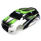 Traxxas Corp . TRA BODY LA TRAX 1/18 W DECALS GREEN