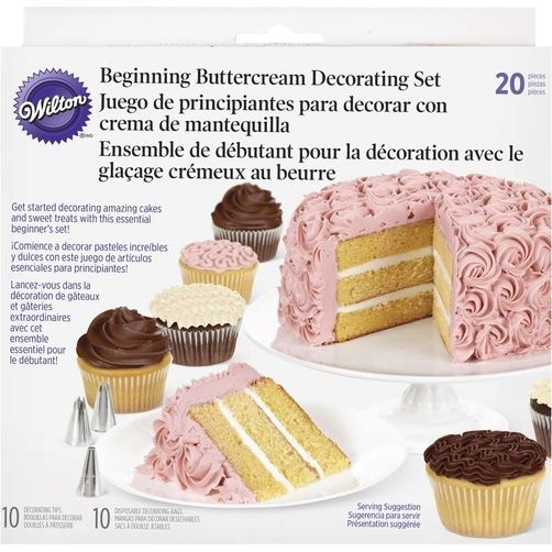 Wilton Products . WIL 20PC DECORATOR SET - PM Hobbycraft