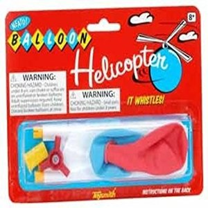 Toysmith . TOY WHISTLE BALOON HELICOPTER