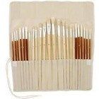 Art Advantage . ART 24PC OIL/ACRYLIC BRUSH SET