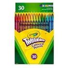Crayola . CRY TWISTABLE COLORED PENCIL 30PK