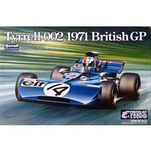 Ebbro . EBB 1/20 1971 TYRRELL 002 BRITISH GRAND PRIX