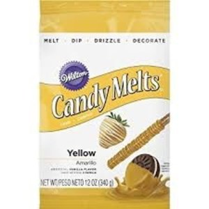 Wilton Products . WIL CANDY MELTS YELLOW
