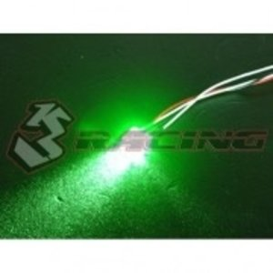 3 Racing . 3RC 5mm Led Light Set - Grn