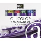 Art Advantage . ART 6 COLOR 12ML OIL SET