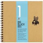 Bee Paper Company . BEE 9X9 BIG BLK BEE 50 SHT PAD