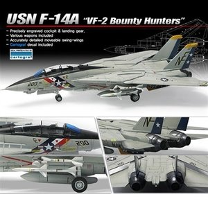 Academy Models . ACY 1/72 F-14A VF-2 BNTY HNT