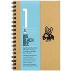 Bee Paper Company . BEE 9X6 BIG BLK BEE 50 SHT PAD