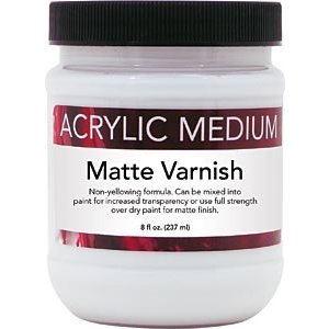 Art Advantage . ART 8OZ ACRYLIC MATTE VARNISH