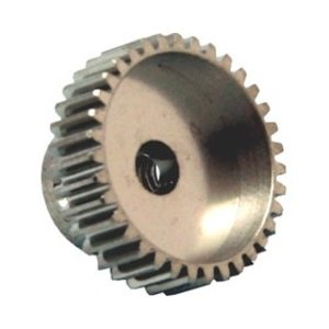 APS Racing . APS ALUMINUM PINION 48 PITCH/ 23 TOOTH
