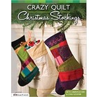 Design Originals . DOL CRAZY QUILT STOCKINGS