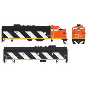 Bowser Manufacture Co . BOW HO F7 A/B DCC/SND CN #9154/#9197