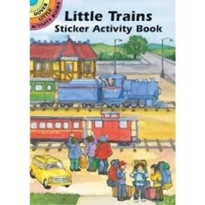 Dover Publishing . DOV LITTLE TRAINS ACTIVITY BK