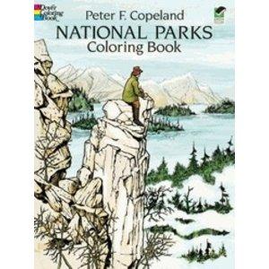 Dover Publishing . DOV NATIONAL PARKS CB