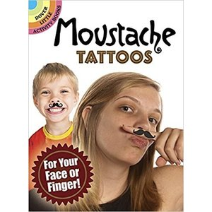 Dover Publishing . DOV MOUSTACHE TATTOOS