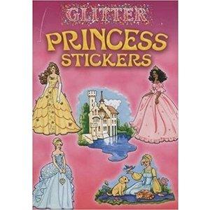 Dover Publishing . DOV GLITTER PRINCESS STICKERS