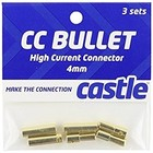 Castle Creations . CSE 4MM High Current Bullet Conn
