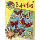 Dover Publishing . DOV 3D BUTTERFLIES COLOR BK