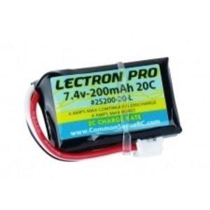 Common Sense R/C . CSR LECTRON PRO 7.4V 200MAH 20C LI
