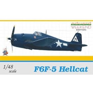 Eduardo Model Acc. . EDU 1/48 F6F5 HELLCAT US FIGHTER