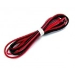 Common Sense R/C . CSR 22 GAUGE SILICONE WIRE - 3 FT. RED AND 3 FT. BLACK