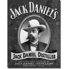 Desperate Enterprises . DPE Jack Daniel's, Distiller - Rectangular Tin Sign